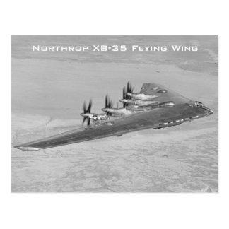 Cartes postales d'aile de vol de Northrop XB-35
