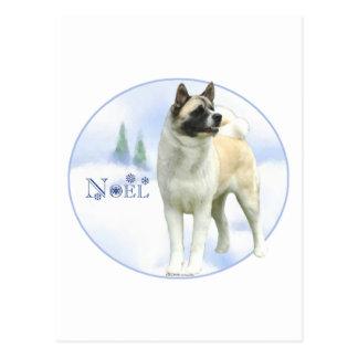 Cartes postales d'Akita Noel