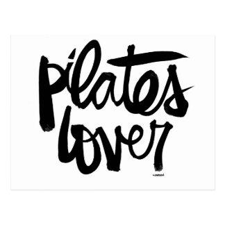 Cartes postales d'amant de Pilates