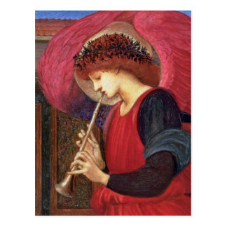 Cartes postales d'ange de Noël - Burne-Jones -