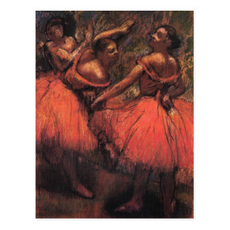 Cartes postales d'art d'Edgar Degas