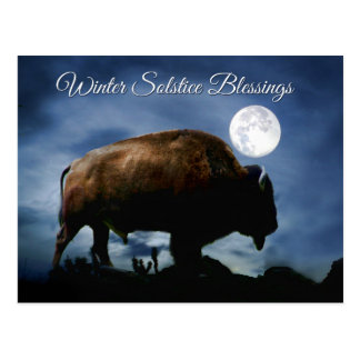 Cartes postales de Buffalo de bénédictions de
