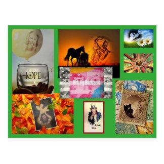 Cartes postales de Burbank - art par Burbank