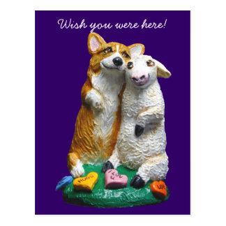Cartes postales de corgi de Gallois de Pembroke