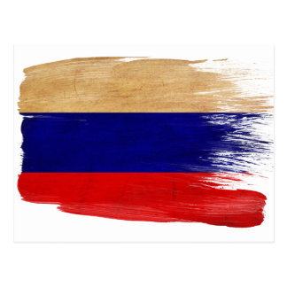 Cartes postales de drapeau de la Russie