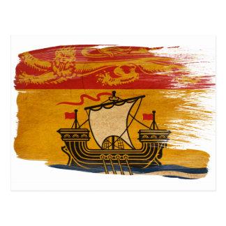 Cartes postales de drapeau du Nouveau Brunswick