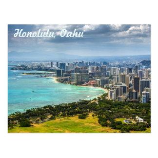 Cartes postales de Honolulu, Oahu