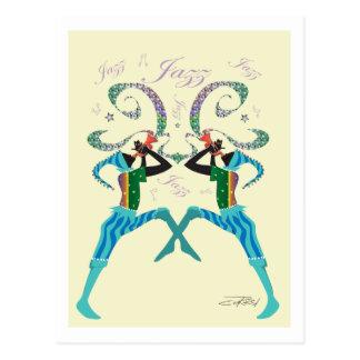 Cartes postales de jazz