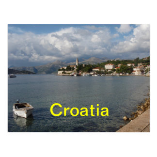 Cartes postales de la Croatie