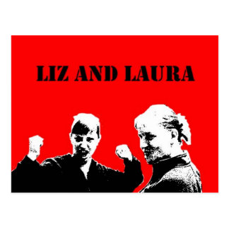 Cartes postales de Liz et de Laura
