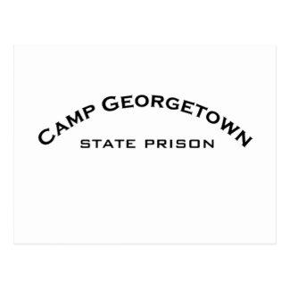 Cartes postales de logo de prison d'État de