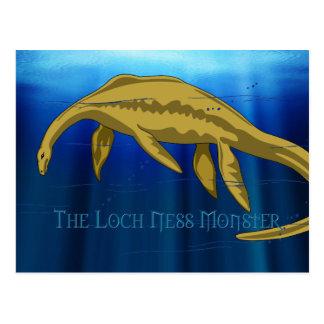 Cartes postales de monstre de Loch Ness
