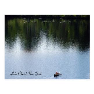 Cartes postales de montagne d'Adirondack