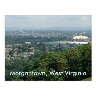 Cartes postales de Morgantown WV de Colisé