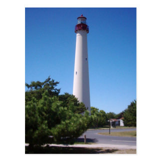 Cartes postales de phare de Cape May