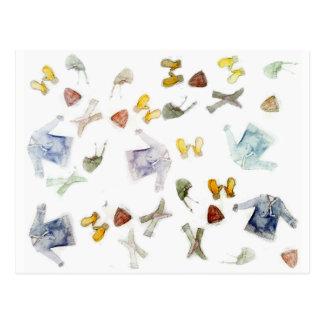 Cartes postales de tricots