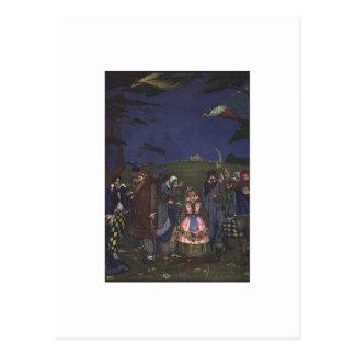 Cartes postales des contes de fées de Clarke