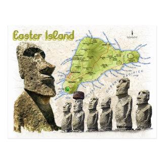Cartes postales d'île de Pâques