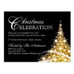 Cartes postales d'invitations de fête de Noël