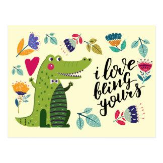 Cartes postales drôles de Saint-Valentin de