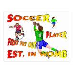 Cartes postales du football