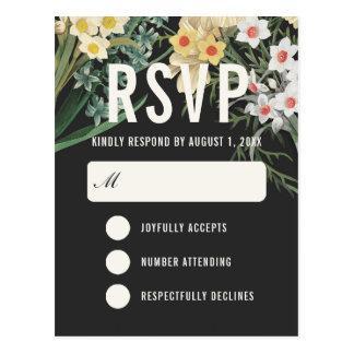 Cartes postales les épousant rêveuses botaniques