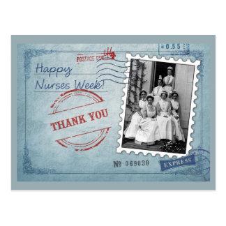 Cartes postales personnalisables de semaine