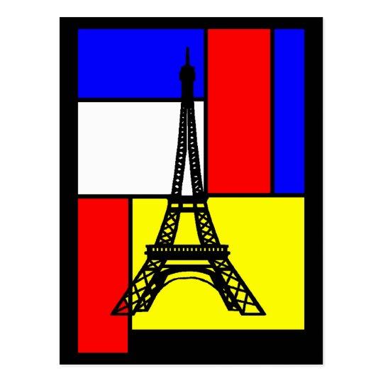 CARTES POSTALES POP ART PARIS DESIGNS LOGOS VISUEL