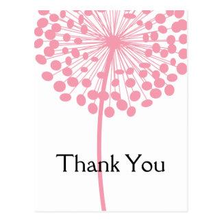 Cartes postales roses 2 de Merci de fleur de