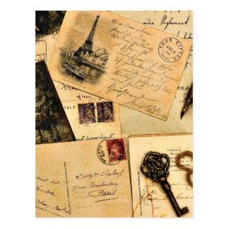 Cartes postales tôt d'aventure