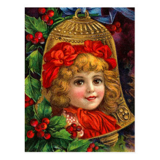 Cartes postales victoriennes de Bell de Noël