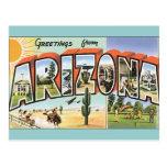 Cartes postales vintages Arizona