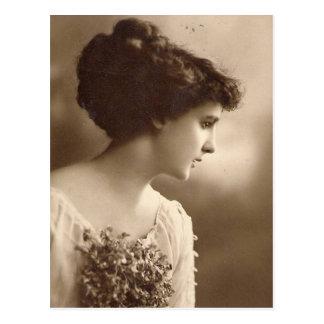 cartes postales vintages de dames de photo