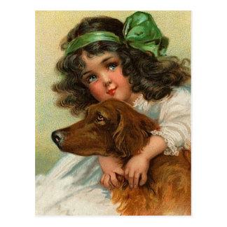 Cartes postales vintages de poseur irlandais