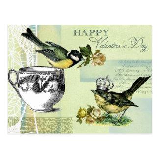 Cartes postales vintages de Saint-Valentin