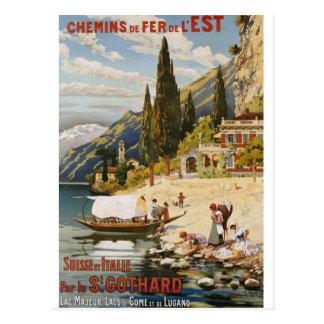 Cartes postales vintages de voyage