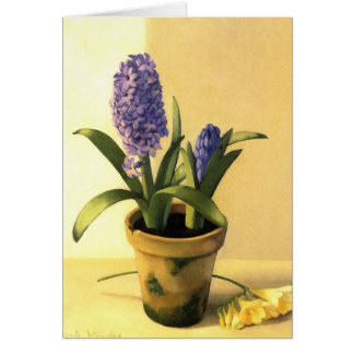 Cartes Pot de jacinthe