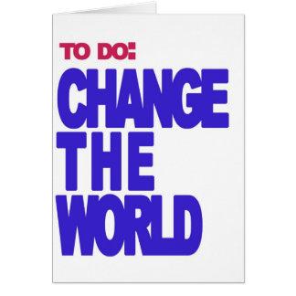 Cartes pour faire : changez le monde