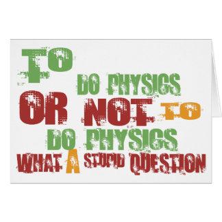 Cartes Pour faire la physique