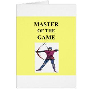 Cartes pour l'archer principal