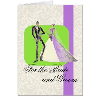 Cartes Pour les jeunes mariés