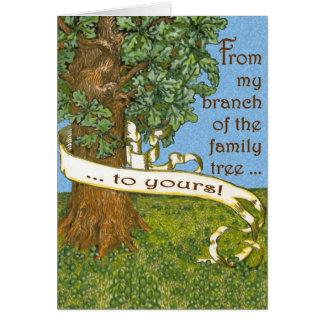 Cartes pour notes d'arbre généalogique