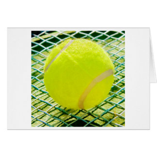 Cartes pour notes de balle de tennis