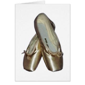 Cartes pour notes de chaussures d'orteil