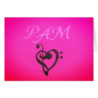 Cartes pour notes de Pam