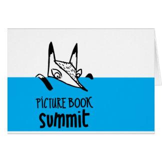 Cartes pour notes de sommet de livre d'images