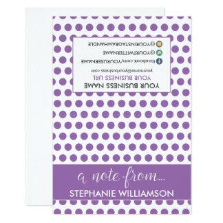 Cartes pour notes personnalisés par styliste carton d'invitation 8,89 cm x 12,70 cm