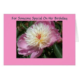 Cartes Pour quelqu'un spécial sur son anniversaire
