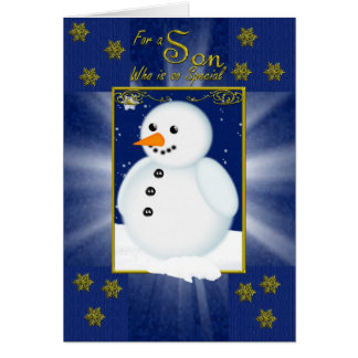 Cartes Pour un fils spécial sur Noël