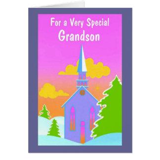 Cartes Pour un petit-fils très spécial